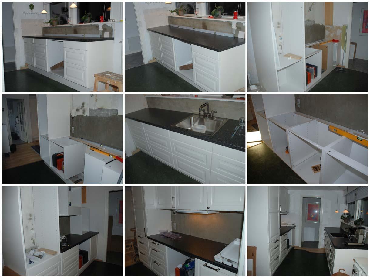 Så er nedrivningen af det gamle køkken startet